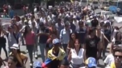 Estudiantado venezolano vuelve a tomar las calles