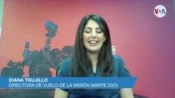 Diana Trujillo, Directora de vuelo de la misión en Marte