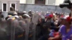 Tensión en las calles de Venezuela ante la huelga convocada por la Mesa de Unidad Democrática