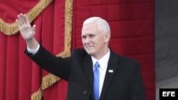 El presidente electo Mike Pence.