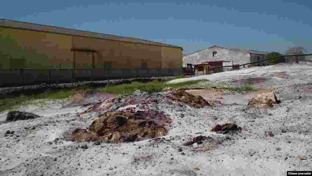 Manzanillo peligro ante contaminación Foto Leonardo Cancio