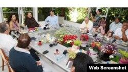 El presidente Daniel Ortega recibe en Managua a delegación de Venezuela