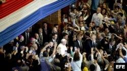 El Papa Francisco en Paraguay.