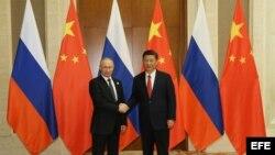 Putin en China