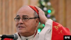 El cardenal Jaime Ortega, Arzobispo de La Habana. Archivo.