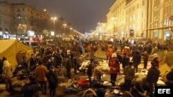 Archivo - Kiev durante la Revolución Naranja.