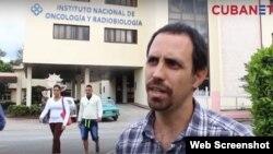 Oscar Casanella fue expulsado de su trabajo en el INOR.