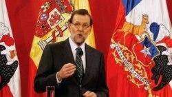 Rajoy arriba a Chile