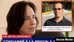 Kahina Bensaadi (i) planea demandar al gobierno de Canadá por no asistir a su esposo Toufik Benhamiche (d) atrapado en Cuba tras un accidente de bote en Cayo Coco.(Facebook)