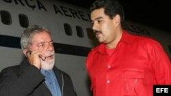 Desde Cuba, Lula respalda a Maduro, represor de las protestas iniciadas el 12-F en Venezuela.