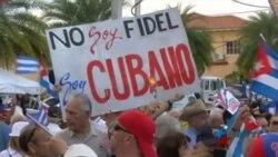 Exilio cubano en Miami envía mensaje de apoyo a la disidencia en la isla