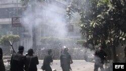 Efrentamientos en Egipto. Archivo.