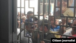 Acto de repudio a pastor en Camagüey