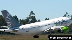 Aerolínea brasileña White.