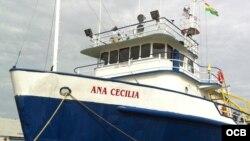 El Ana Cecilia permanece en Miami. Foto: Ricardo Quintana