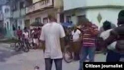 Activistas de Juventud Cuba Unidad (JACU) ofrece detalles de su trabajo en la isla