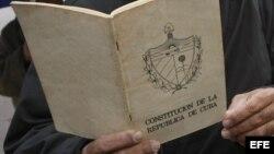 La Constitución de la República de Cuba
