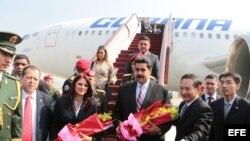 El presidente Maduro habría alquilado dos pisos en hoteles en China y Nueva York a un costo de más de $800 mil dólares.