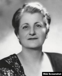 Ana María Rodríguez de Gutiérrez, pedagoga fundadora y directora del Instituto Edison