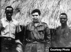 Guevara en el Congo.