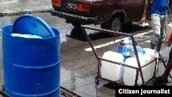 Reporta Cuba la escasez de agua Foto de Joae A Bueno residente en Santiago de Cuba