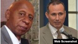 Combinación de fotos de Guillermo Fariñas (Izq) y José Daniel Ferrer (der)