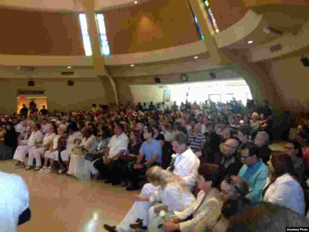 Misa en la Ermita de la Caridad el 20 de septiembre 2015