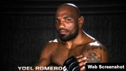 Yoel Romero, luchador cubano de artes marciales.