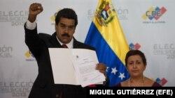 Poder Electoral proclama a Maduro como ganador de elecciones del 14 de abril.
