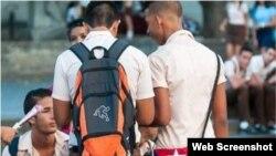 Estudiantes de politécnico en La Habana. (Archivo)