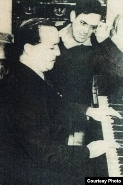 Eliseo Grenet y Ernesto Lecuona.