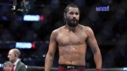 El peleador de artes marciales mixtas cubano americano Jorge MasVidal se enfrenta este Sábado al Nigeriano Kamaru Usman en una esperada pelea.