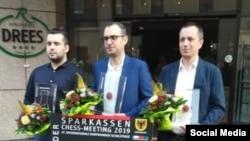 Leinier Domínguez Pérez campeón del Sparkassen Chess-Meeting 2019. Foto: Thorsten Kolbe para @SparkassenChess-Meeting