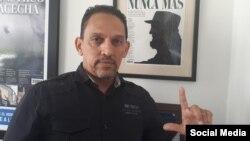 Rolando Rodríguez Lobaina, opositor, coordinador de la productora independiente Palenque Visión. (FACEBOOK).