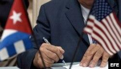 Archivo. 3ra Ronda de negocios Cuba-EEUU.