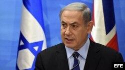 El primer ministro israelí, Benjamín Netanyahu