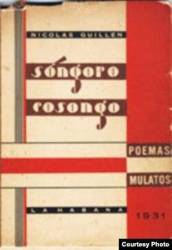 """Portada de la primera edición de """"Sóngoro cosongo""""."""
