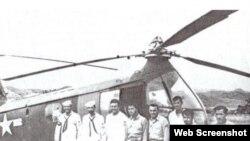 Marines estadounidenses secuestrados por Raúl Castro en 1958.