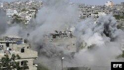 Más de 180 palestinos muertos en Gaza en 7 días de ofensiva.