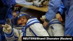 Thomas Pesquet, astronauta francés. Foto:REUTERS/Shamil Zhumatov/Archivo.