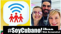 Convocatoria a tuitazo #SoyCubanoLibre.