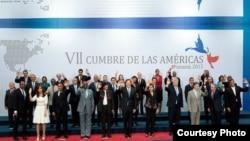 En la Cumbre de Panamá en 2015 participaron los 35 jefes de Estado o Gobierno de las Américas.