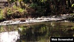 Aguas contaminadas en Santa Clara