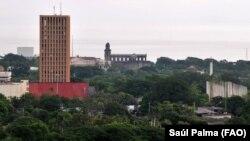 Vista de Managua, la capital de Nicaragua. Foto: FAO/Saúl Palma.