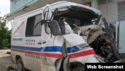 Accidentes de tránsito provincia de Holguín, Cuba