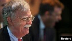 John Bolton en la cumbre de Lima sobre Venezuela. REUTERS/Guadalupe Pardo