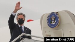 Antony Blinken, secretario de Estado de Estados Unidos (Jonathan Ernst / AFP).