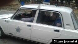 Reporta CUba arrestos auto policia