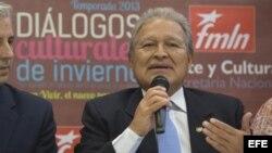Salvador Sánchez Cerén.