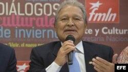 Venezuela está apostando fuerte por el candidato del FMLN a las elecciones, el actual vicepresidente Salvador Sánchez Cerén.